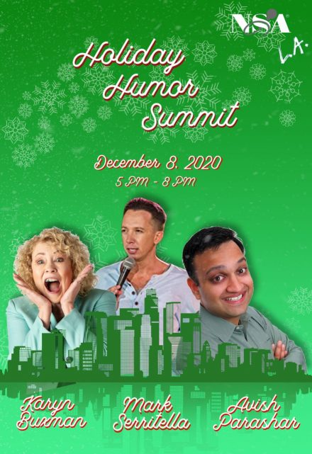 2020 Dec 08 Holiday Humor Summit Video Library