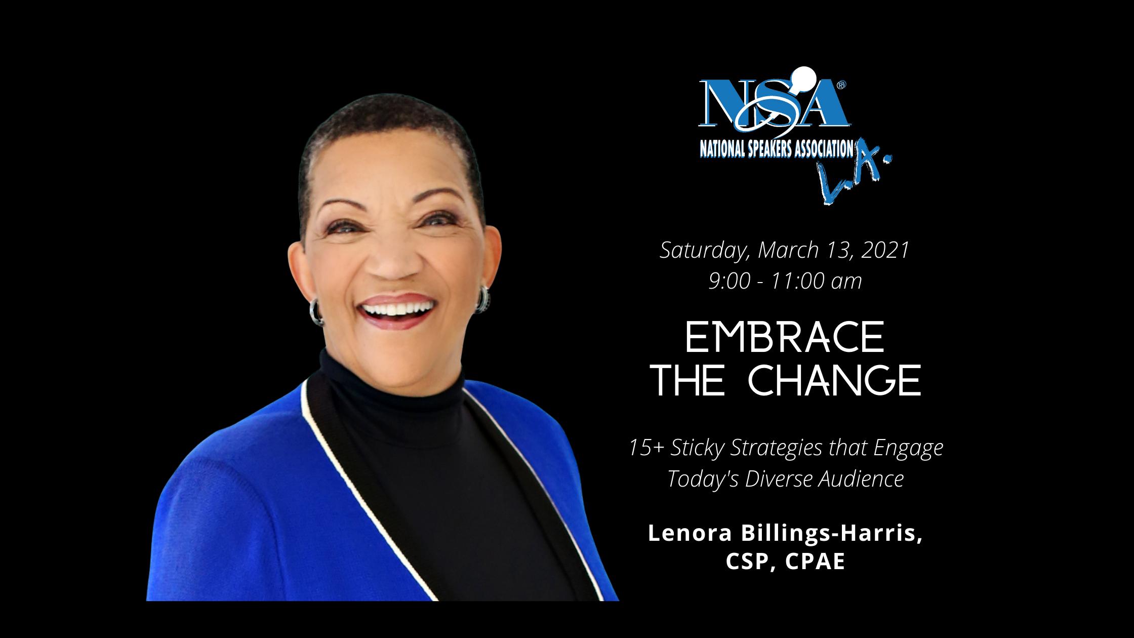 2021 Mar 13 Lenora Billings Harris Event Video
