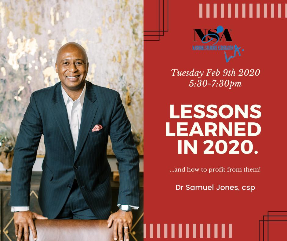 2021 Feb 09 Dr. Samuel Jones Event Video