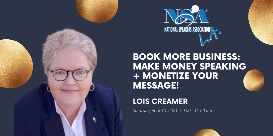 2021 Apr 10 Lois Creamer Event Video